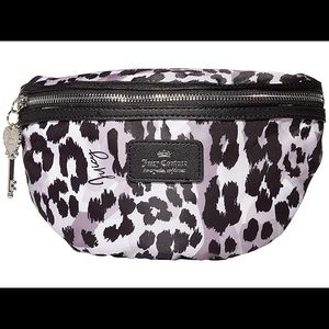 JUICY COUTURE Animal Print Waist Bag